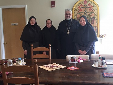 HOLY MYRRHBEARERS MONASTERY